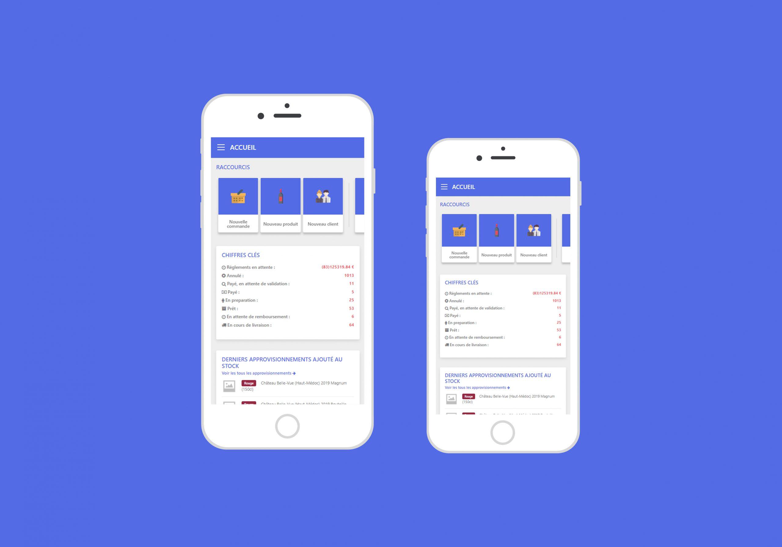 Responsive design - écran mobile