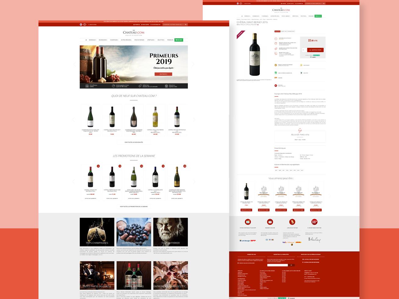 Webdesign de Chateau.com