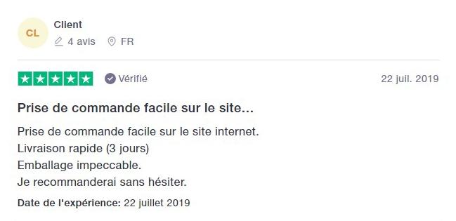 Avis client Chateau.com - 4